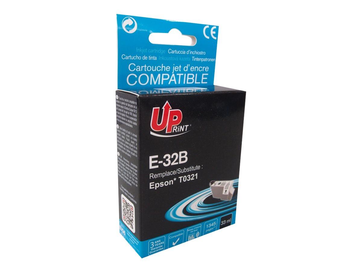 UPrint E T32B - noir - cartouche d'encre (équivalent à : Epson T0321)