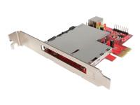 StarTech.com Cartes PEX2ECDP