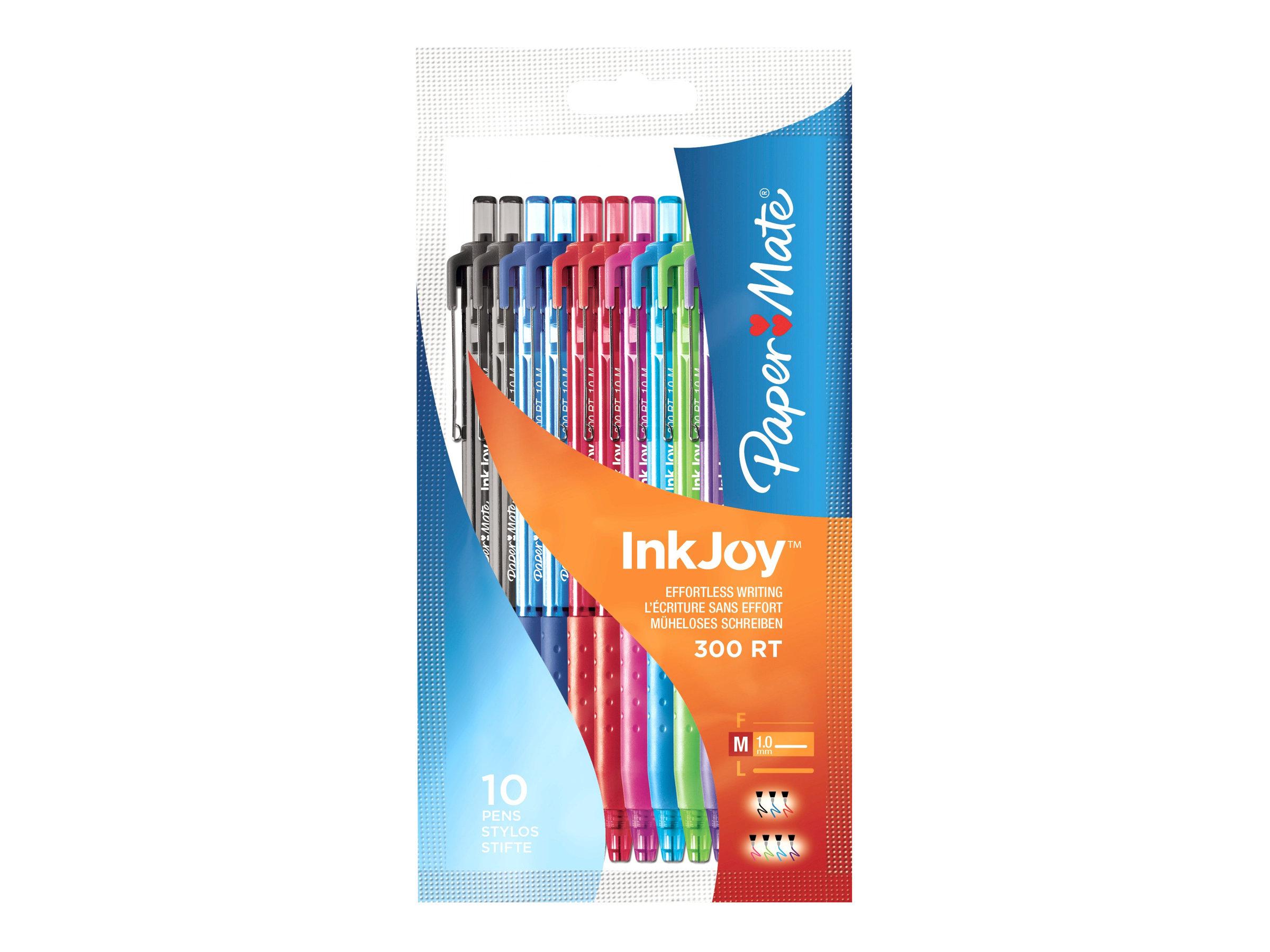 paper mate inkjoy 300 rt stylo bille stylos billes. Black Bedroom Furniture Sets. Home Design Ideas