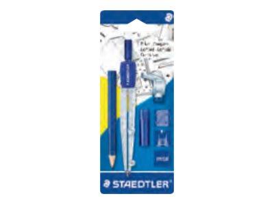 STAEDTLER - Jeu de compas et crayons - attache-compas + crayon