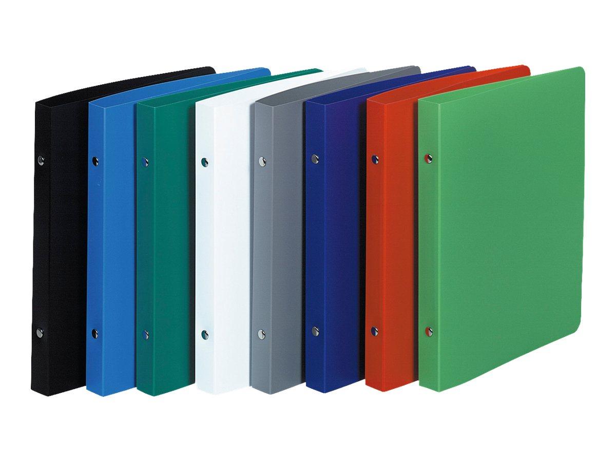 Exacompta Opaque - Classeur à anneaux - 20 mm - 220 x 170 mm - pour 100 feuilles - disponible dans différentes couleurs