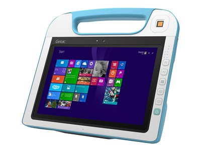 """Getac RX10H - Tablet - Core M 5Y71 / 1.2 GHz - Win 10 Pro 64-bit - 8 GB RAM - 128 GB SSD TCG Opal Encryption 2 - 10.1"""" IPS touchscreen 1920 x 1200 - HD Graphics 5300 - 802.11ac - rugged"""