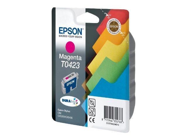 Epson T0423 - magenta - originale - cartouche d'encre