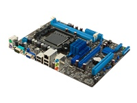 ASUS M5A78L-M LX3 Bundkort micro-ATX Socket AM3+ AMD 760G Gigabit LAN