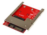"StarTech.com Adaptateur mSATA SSD vers SATA 2,5"" - Carte Convertisseur mSATA SSD vers SATA 2,5"""