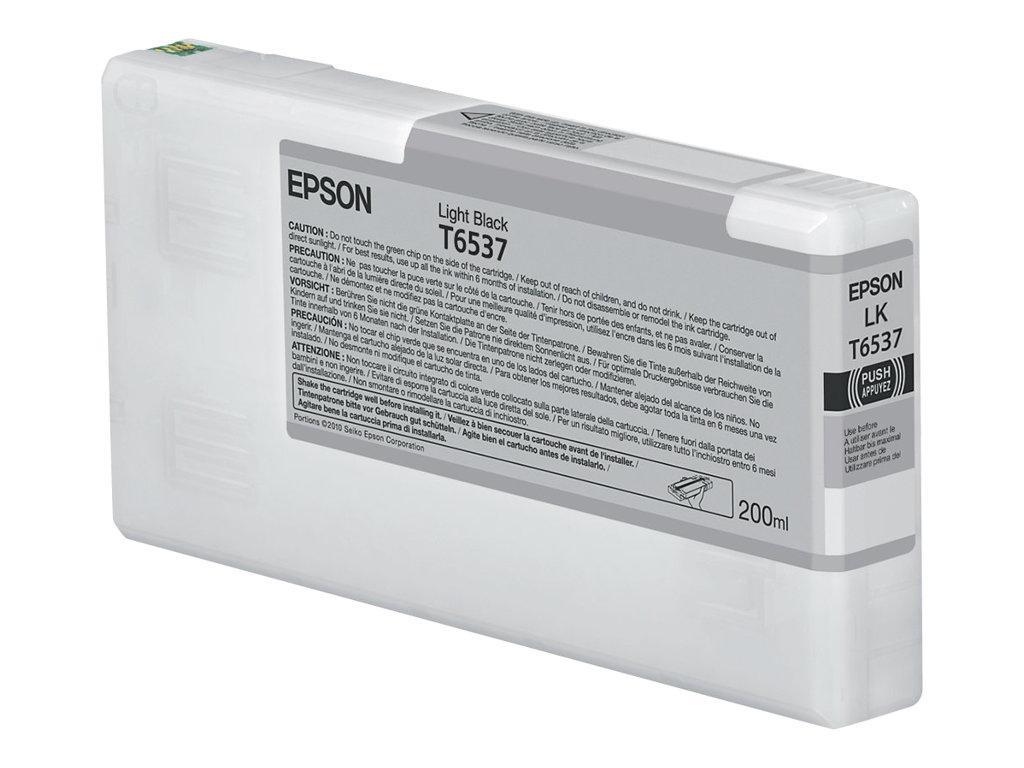 Epson - T6537 - 200 ml - noir clair - originale - cartouche d'encre