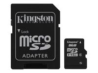 Kingston Flashhukommelseskort (microSDHC til SD adapter inkluderet)