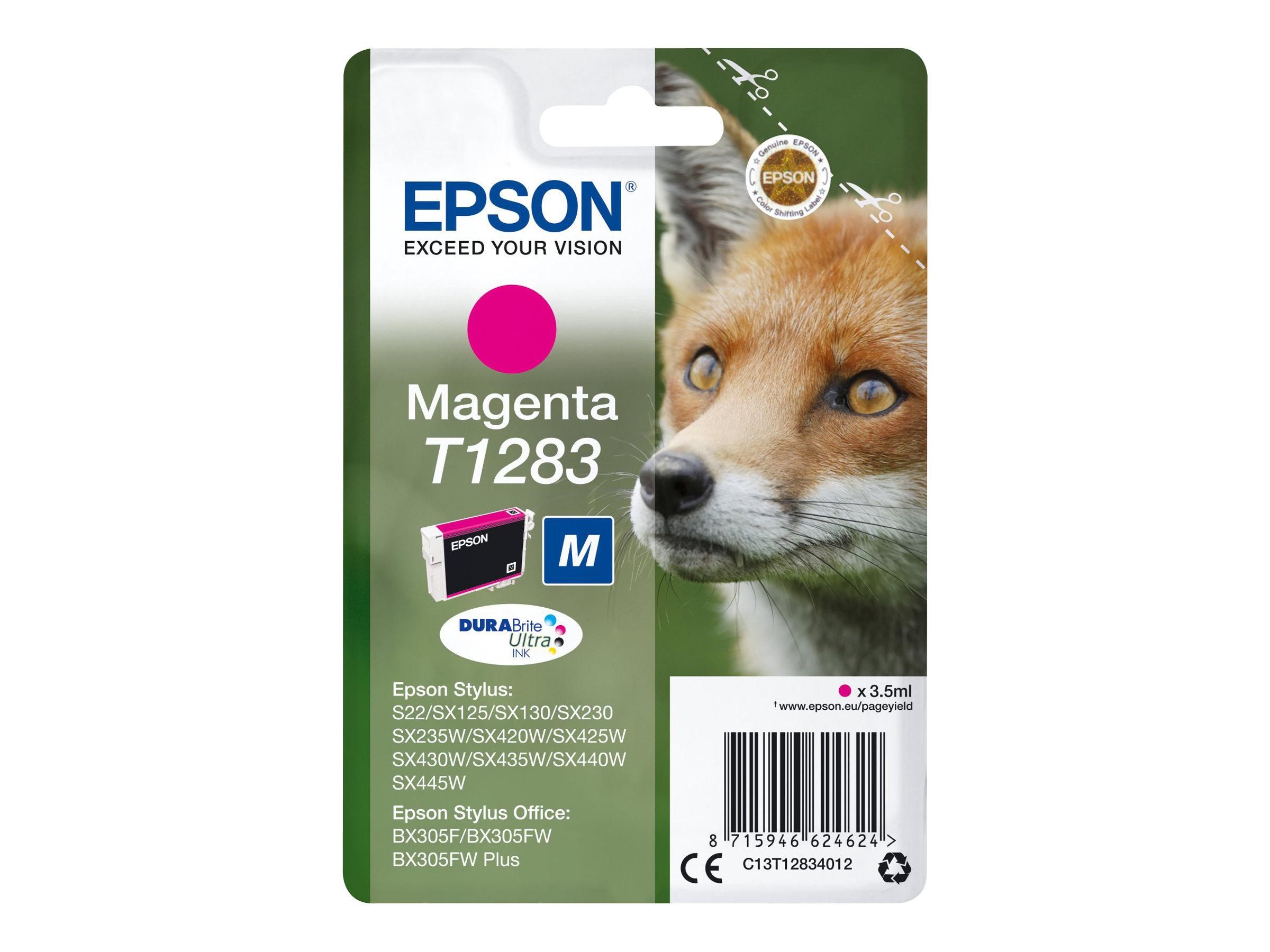 Epson T1283 - renard - taille M - magenta - originale - cartouche d'encre