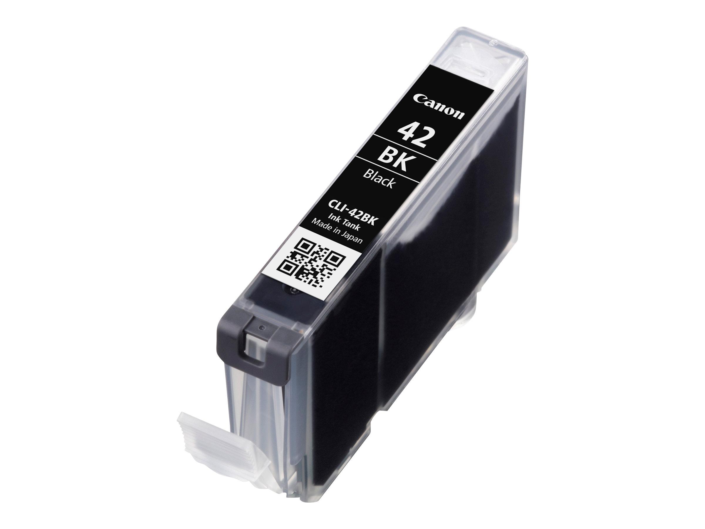 Canon CLI-42BK - noir par coloration - originale - réservoir d'encre