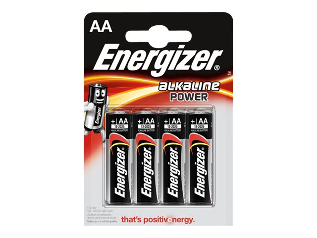 Energizer Alkaline Power batterie - type AA - Alcaline x 4