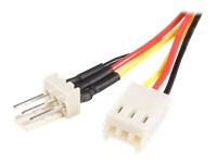 StarTech.com 6in TX3 Fan Power Extension Cable