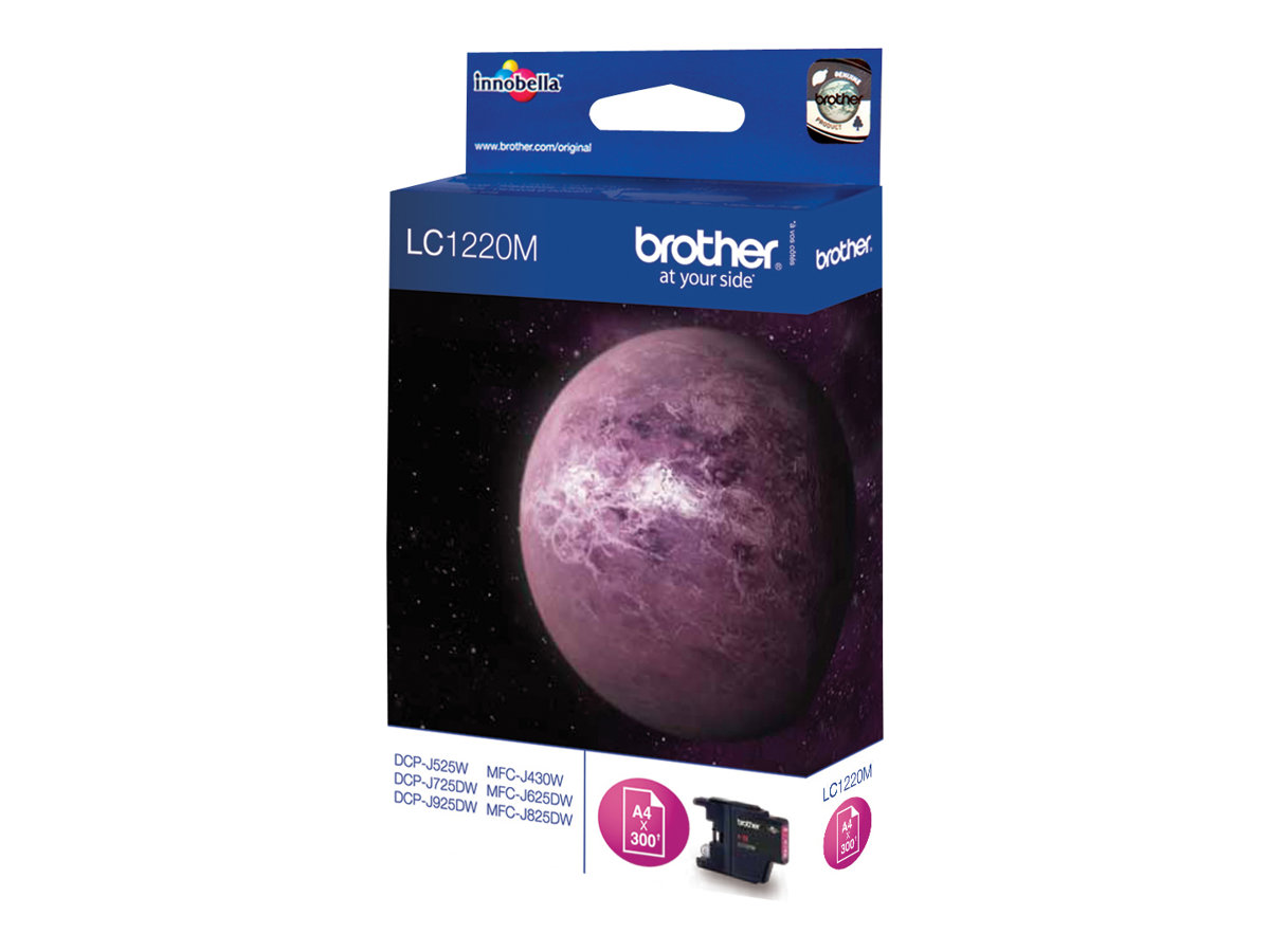 Brother LC1220M - magenta - originale - cartouche d'encre