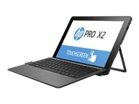 "HP Pro x2 612 G2 - Tablet - with keyboard dock - Core i7 7Y75 / 1.3 GHz - Win 10 Pro 64-bit - 8 GB RAM - 256 GB SSD NVMe, HP Turbo Drive G2, TLC - 12"" touchscreen 1920 x 1280 - HD Graphics 615 - Wi-Fi, NFC, Bluetooth - 4G - kbd: US - with HP Pro x2 612 Travel Keyboard - HP Mobile Connect Pro"