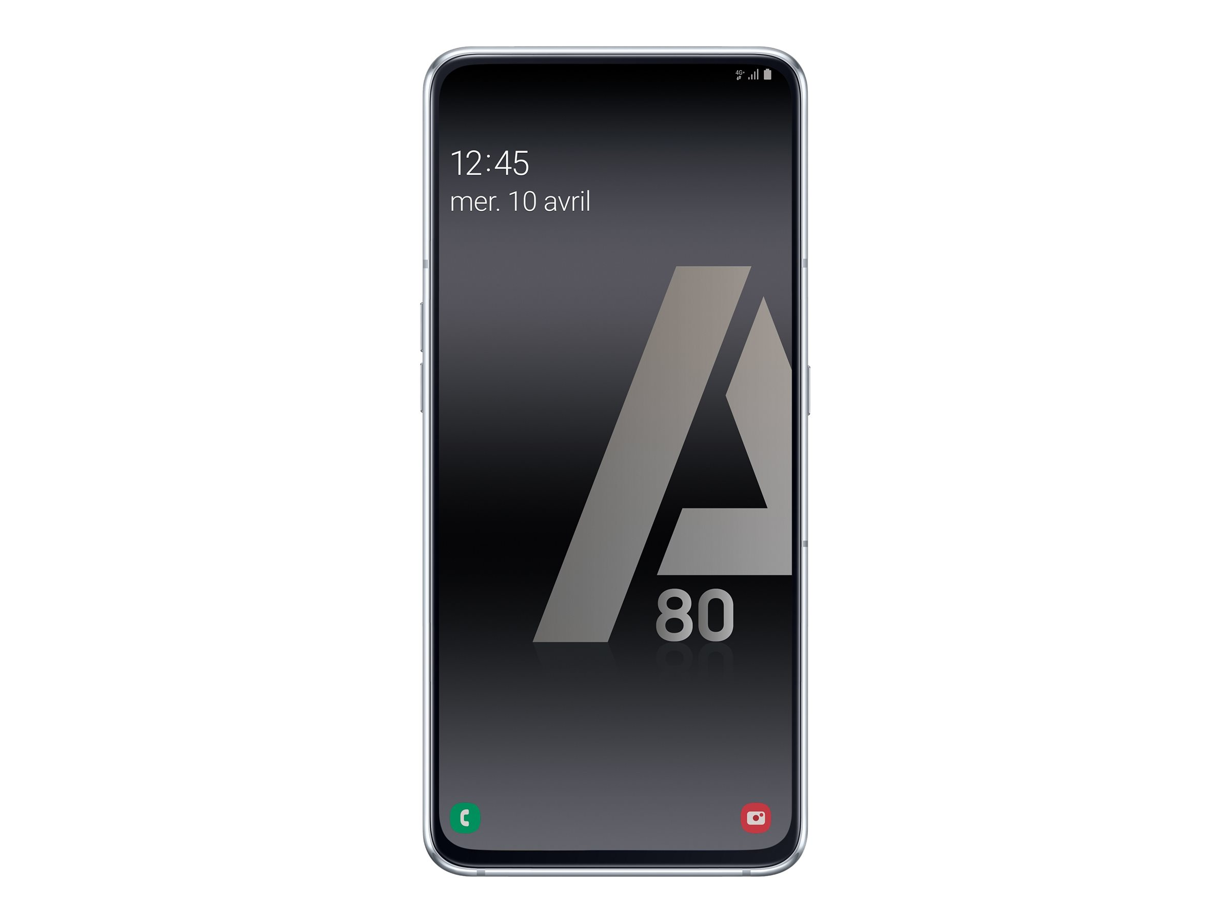 Smartphone Android Samsung Galaxy A80 Argent Eleclerc