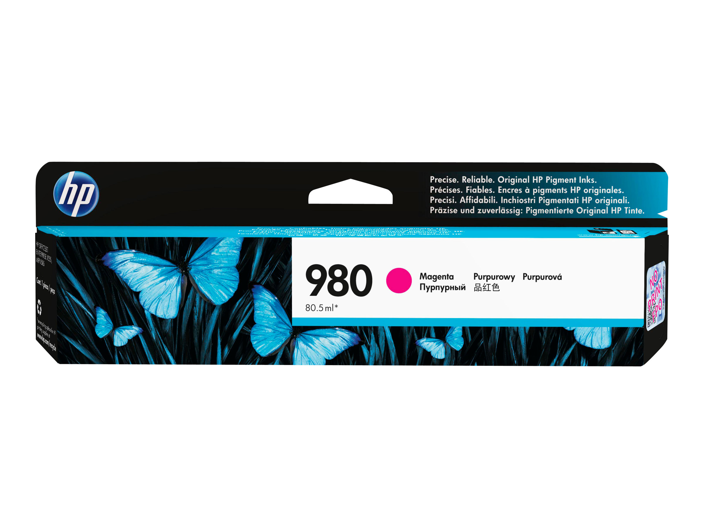 HP 980 - magenta - original - cartouche d'encre