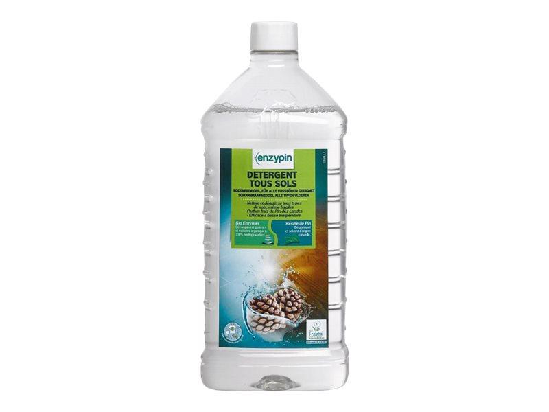 Detergent enzymatique ph neutre, nettoie et degraisse tous types de sols. parfum pin des landes Detergent sols ecolabel