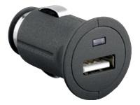 goobay Strømforsyningsadapter bil 2 A (USB (kun strøm)) sort