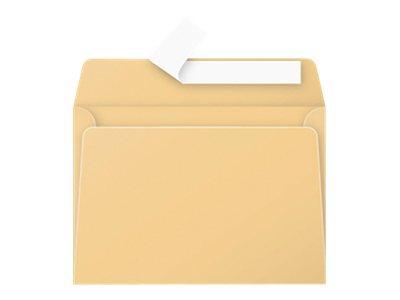 Pollen - Enveloppe - 114 x 162 mm - avec bande (auto-adhésif) - caramel - pack de 20