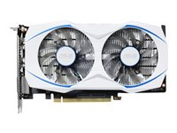 ASUS DUAL-GTX1050TI-O4G - OC Edition - graphics card