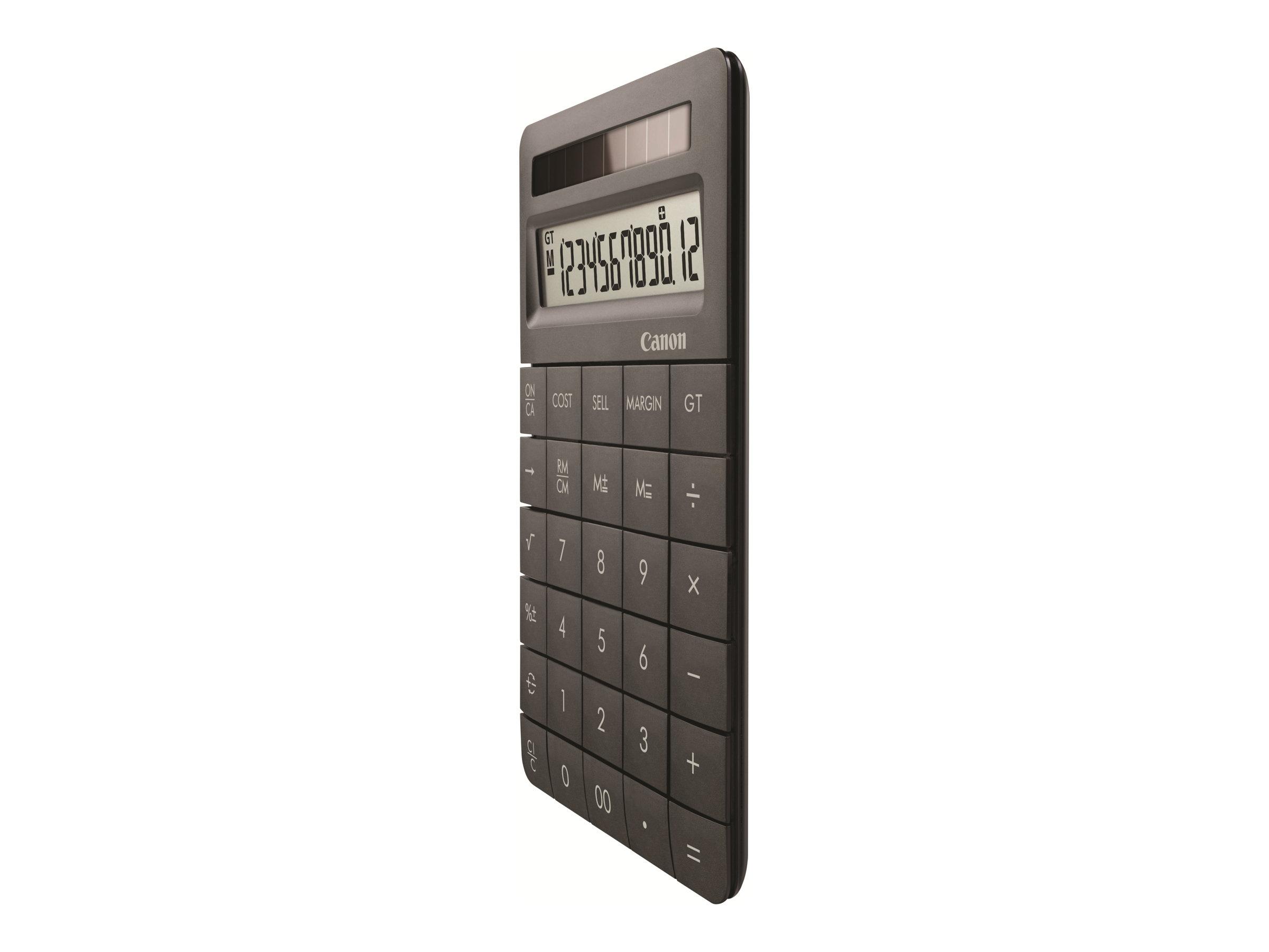 Canon X MARK II - Calculatrice financière - 12 chiffres - différentes couleurs disponibles