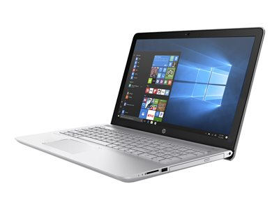 "HP Pavilion 15-cc020nr - Core i7 7500U / 2.7 GHz - Windows 10 Home - 12 GB RAM - 1 TB HDD - DVD-Writer - 15.6"" IPS touchscreen 1920 x 1080 (Full HD) - HD Graphics 620 - 802.11ac - HP sand blast finish in mineral silver and natural silver - kbd: US"