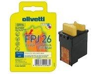 Olivetti FPJ26 - jaune, cyan, magenta - originale - cartouche d'encre