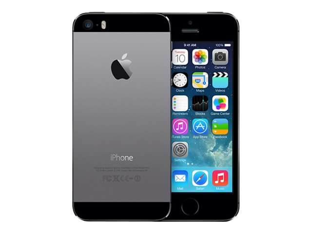 apple iphone 5s gris 4g lte 16 go gsm smartphone reconditionn smartphones. Black Bedroom Furniture Sets. Home Design Ideas