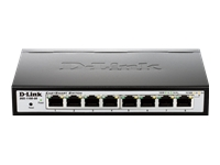 D-Link Switchs 10/100 DGS-1100-08