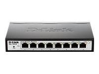 D-Link EasySmart Switch DGS-1100-08 - commutateur - 8 ports - Géré - Ordinateur de bureau