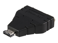 StarTech.com Power eSATA to eSATA and USB Adapter – M/F
