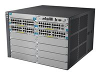 HPE - N BRANDED SWITCHING (6H) BTO HP E5412-92G-PoE+/2XG-SFP+ v2 zl SwitchJ9532A#ABB