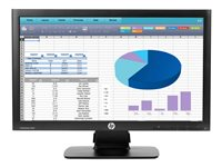 "HP ProDisplay P202 - Monitor LED - 20"" (20.0"" visible)"