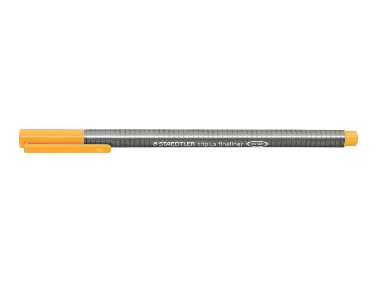 STAEDTLER triplus - Feutre fin - orange clair - 0.3 mm - très fin