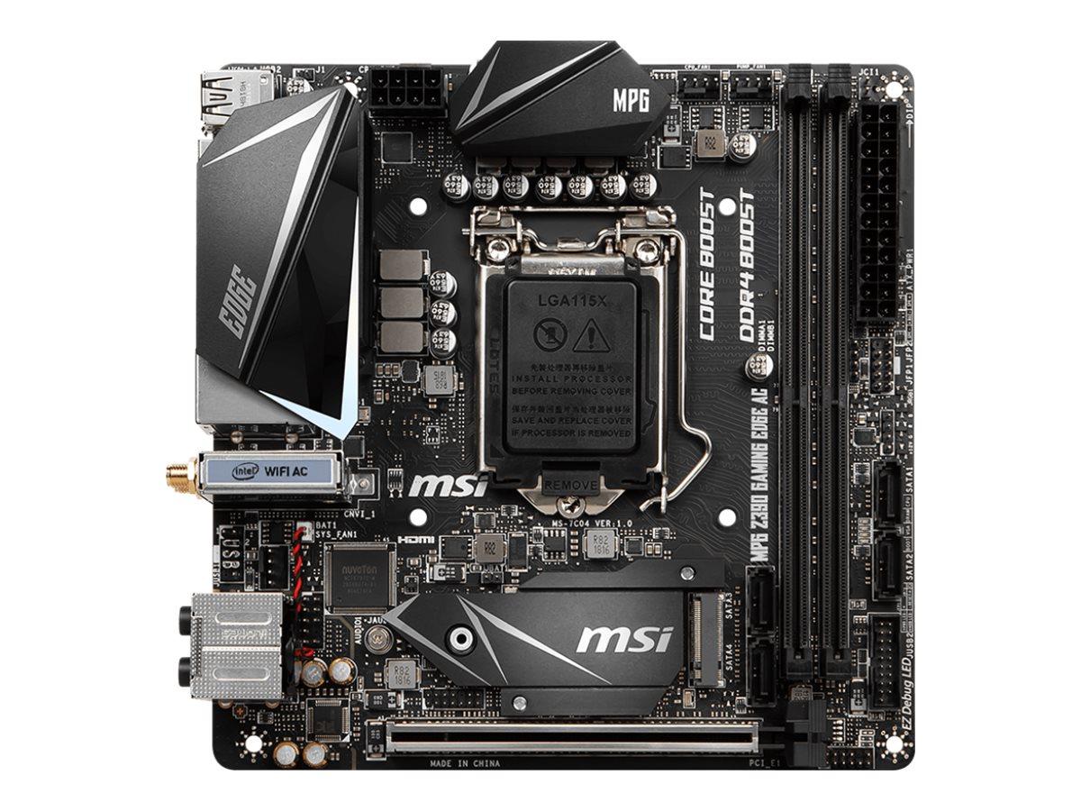 DCS - Intel Coffee Lake bundkort - MSI MPG Z390I GAMING EDGE
