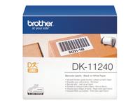 Brother DK-11240 - étiquettes d'expédition - 600 étiquette(s)