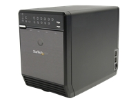 StarTech.com 3.5in 4 Drive eSATA USB FireWire SATA RAID Enclosure