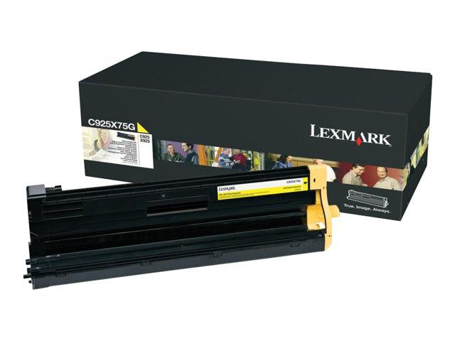 Image of Lexmark - yellow - original - printer imaging unit - LCCP