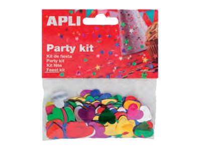 Apli Party Kit - ensemble de confetti artisanaux
