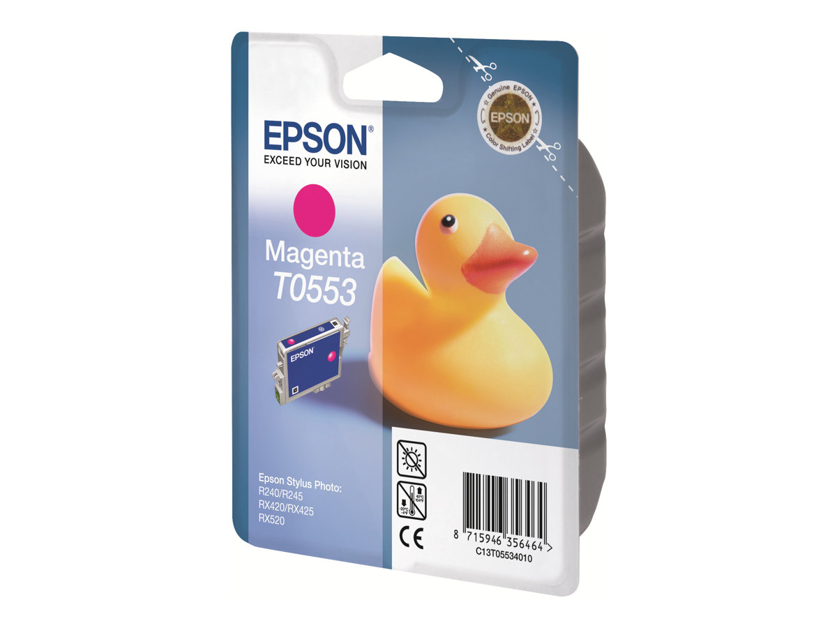 Epson T0553 - canard - magenta - originale - cartouche d'encre