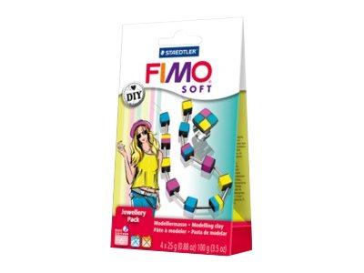 FIMO soft DIY jewellery pack cubes - pâte à modeler