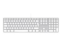 Apple Keyboard with Numeric Keypad - clavier - français