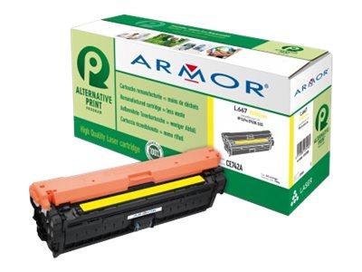 Armor K15586 - jaune - cartouche de toner (équivalent à : HP CE742A )