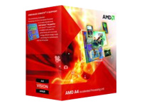 AMD A4 4000 3 GHz 2 cores Socket FM2 Box