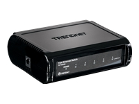 TRENDnet TE100 S5 Switch 5 x 10/100 desktop