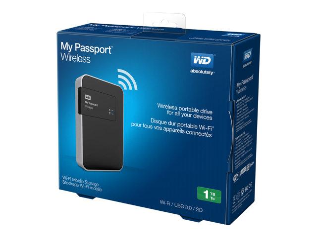 WD My Passport Wireless WDBK8Z0010BBK