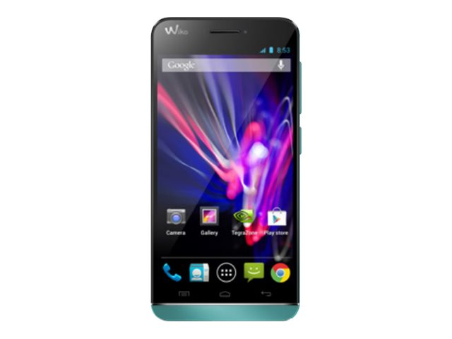 Wiko Wax - turquoise - 4G HSPA+ - 4 Go - GSM - smartphone