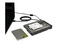 StarTech.com Cable Adaptador USB 3.1 (10Gbps) para Unidades de Disco SATA de 2,5 y 3,5 Pulgadas - Conversor para Discos Duros y SSD SATA - Controlador de almacenamiento