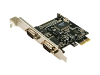 LogiLink PCI Express Interface Card Serial 2x Seriel adapter PCIe