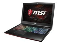 MSI GE62 7RE 093NE Apache Pro Core i7 7700HQ Windows 10 Home 16 GB RAM