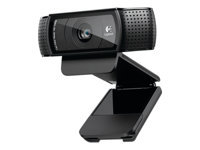 Logitech HD Pro Webcam C920 Webkamera farve 1920 x 1080 audio USB 2.0